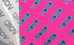 etiqueatas void, ultradestructibles, holograficas