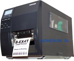 IMPRESORAS TOSHIBA B-EX4T1 - B-EX4T2  ADHESUR ETIQUETAS